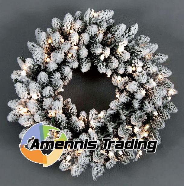 Wreath Snow 150cm Amennis Trading